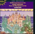 Glinka: Grand Sextet in E flat; Rimsky-Korsakov: Piano and Wind Quintet in B flat