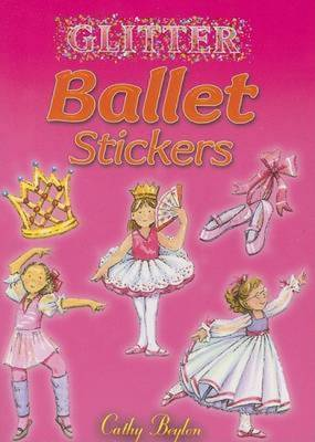 Glitter Ballet Stickers - Beylon, Cathy