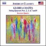 Gloria Coates: String Quartets Nos. 2, 3, 4, 7 and 8