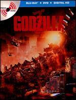 Godzilla [2 Discs] [Includes Digital Copy] [Ultraviolet] [SteelBook] [Blu-ray/DVD]
