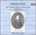 Goetz: Complete Works for Solo Piano