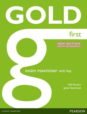 Gold First New Edition Maximiser with Key - Newbrook, Jacky