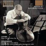 Goldenweiser: Piano Trio in Em Op31; Catoire: Piano Trio in Fm Op14