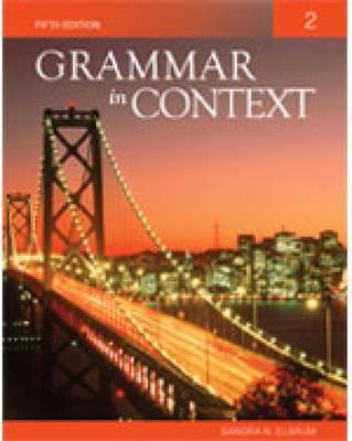 Grammar in Context 2 - Peman, Judi, and Elbaum, Sandra N.