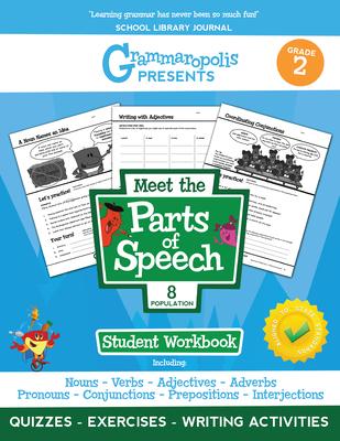 Grammaropolis: The Parts of Speech Workbook, Grade 2 - Voorhees, Coert, and Grammaropolis