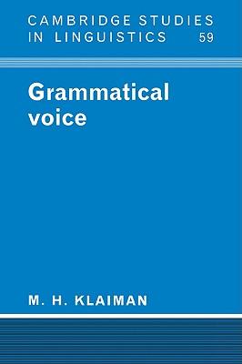 Grammatical Voice - Klaiman, M H