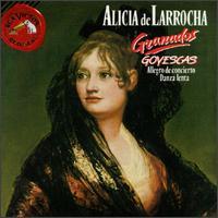 Granados: Allegro De Concierto/Danza Lenta/Goyescas/El Pelele - Alicia de Larrocha (piano)