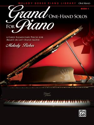 Grand One-Hand Solos for Piano, Bk 1: 6 Early Elementary Pieces for Right or Left Hand Alone - Alfred Publishing