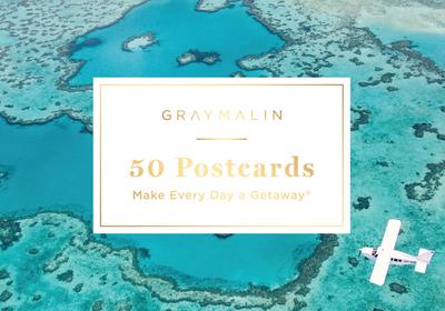 Gray Malin: 50 Postcards (Postcard Book): Make Every Day a Getaway - Malin, Gray