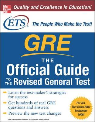 GRE: The Official Guide to the Revised General Test - Educational Testing Service