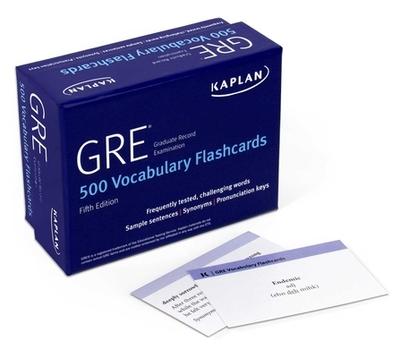 GRE Vocabulary Flashcards - Kaplan Test Prep