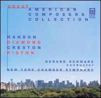 Great American Composers Collection - Carol Rosenberger (piano); Jean Dane (viola); Judith Mendenhall (flute); Randall Ellis (oboe); Susan Jolles (harp);...