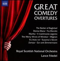Great Comedy Overtures - Royal Scottish National Orchestra; Lance Friedel (conductor)