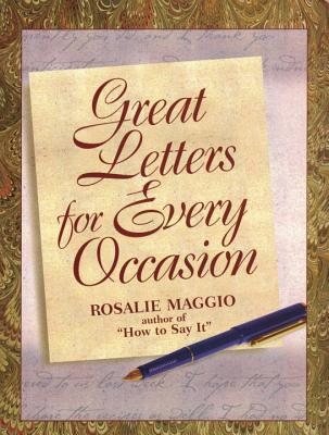 Great Letters for Every Occasion - Maggio, Rosalie