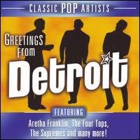 Greetings from Detroit - Various Artists
