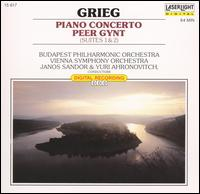 Grieg: Piano Concerto; Peer Gynt Suites Nos. 1 & 2 - Daniel Gerard (piano)