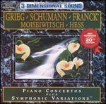 Grieg, Schumann: Piano Concertos; Franck: Symphonic Variations