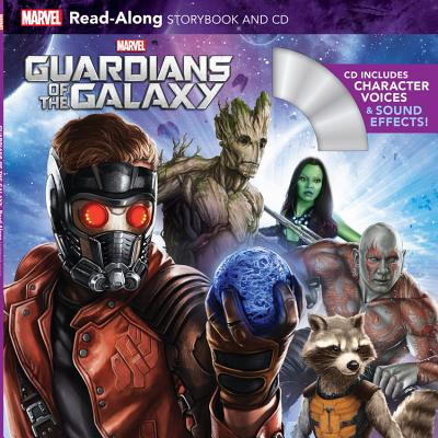 Guardians of the Galaxy Read-Along Storybook and CD - Ilnitzki, Megan