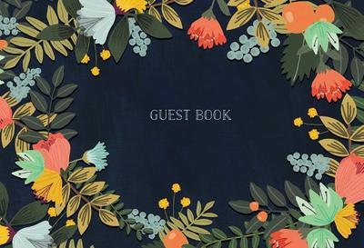 Guest Book: Modern Floral Edition - Charro, Mia