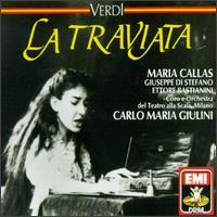 Guiseppe Verdi: La Traviata - Antonio Zerbini (vocals); Arturo la Porta (vocals); Ettore Bastianini (baritone); Franco Ricciardi (tenor);...