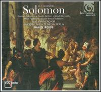 Haendel: Solomon - Carolyn Sampson (soprano); David Wilson-Johnson (bass); Mark Padmore (tenor); Sarah Connolly (alto); Susan Gritton (soprano);...
