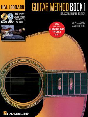 Hal Leonard Guitar Method Book 1: Deluxe Beginner Edition - Schmid, Will, and Koch, Greg