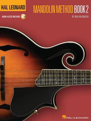 Hal Leonard Mandolin Method Book 2 (Book/Online Audio) - DelGrosso, Rich