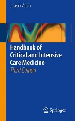 Handbook of Critical and Intensive Care Medicine - Varon, Joseph