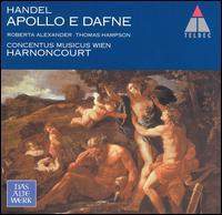 Handel: Apollo e Dafne - Roberta Alexander (soprano); Thomas Hampson (baritone); Concentus Musicus Wien; Nikolaus Harnoncourt (conductor)