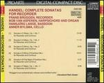 Handel: Complete Sonatas for Recorder