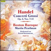 Handel: Concerti Grossi, Op. 6, Part 2 - Daniel Stepner (violin); Julie Leven (violin); Sarah Freiberg (cello); Boston Baroque