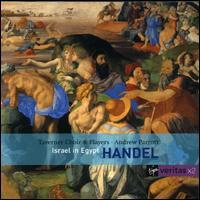 Handel: Israel in Egypt - Anthony Rolfe Johnson (tenor); David Thomas (bass); Emily van Evera (soprano); Jeremy White (bass); Nancy Argenta (soprano);...