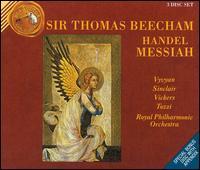 Handel: Messiah - Giorgio Tozzi (bass); Jennifer Vyvyan (soprano); Jon Vickers (tenor); Monica Sinclair (mezzo-soprano);...