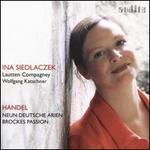 Handel: Neun Deutsche Arien, Brockes Passion