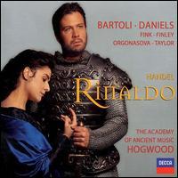 Handel: Rinaldo - Academy of Ancient Music; Ana-Maria Rincon (soprano); Bejun Mehta (counter tenor); Bernarda Fink (mezzo-soprano);...