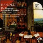 Handel: The Complete Sonatas for Recorder