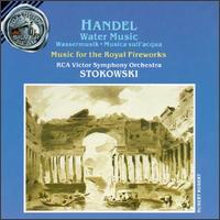 Handel: Water Music/Music for the Royal Fireworks - Alexander Schneider (violin); Alfred Krips (violin); Charles McCracken (cello); Felix Galimir (violin); Robert Conant (harpsichord)