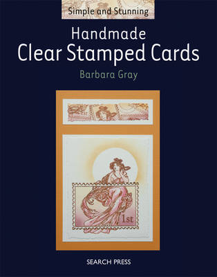 Handmade Clear Stamped Cards - Gray, Barbara