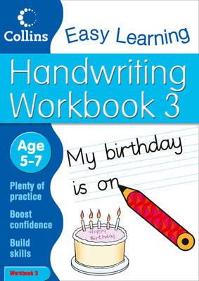 Handwriting Workbook 3 - HarperCollins UK