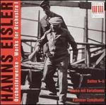 Hanns Eisler: Works for Orchestra I