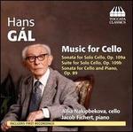 Hans Gál: Music for Cello