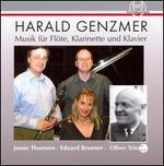 Harald Genzmer: Musik für Flöte, Klarinette und Klavier