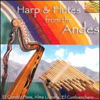 Harp and Flutes from the Andes - Pablo Carcamo & Oscar Benito
