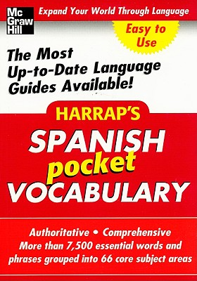 Harrap's Spanish Pocket Vocabulary - Harrap's Publishing (Creator)