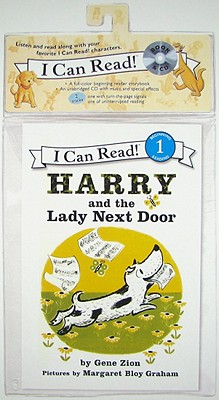 Harry and the Lady Next Door Book and CD - Zion, Gene, and Graham, Margaret Bloy (Illustrator)