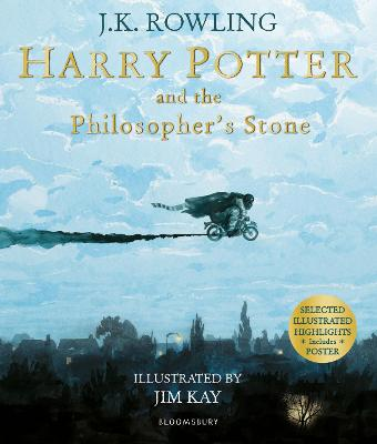 Harry Potter and the Philosopher's Stone: Illustrated Edition - Rowling, J.K.