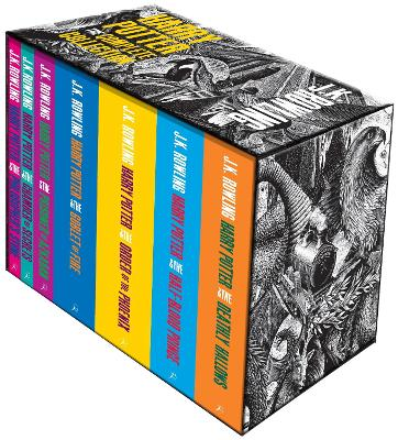 Harry Potter Boxed Set: The Complete Collection (Adult Paperback) - Rowling, J.K.