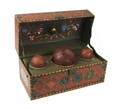 Harry Potter: Collectible Quidditch Set - Running Press (Editor)