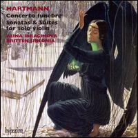 Hartmann: Concerto funebre; Sonatas & Suites for solo violin - Alina Ibragimova (violin); Jacqueline Shave (violin); Britten Sinfonia