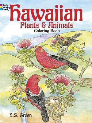 Hawaiian Plants and Animals Coloring Book - Green, Y S